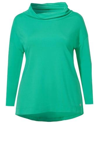 FRAPP Cooles Shirt mit breitem Kragen kaufen