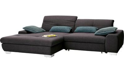 set one by Musterring Ecksofa »SO1200«, Recamiere links oder rechts bestellbar,... kaufen