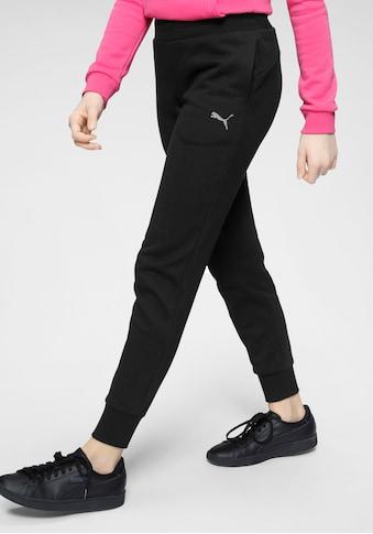 PUMA Jogginghose »SWEAT PANTS FLEECE GIRLS« kaufen