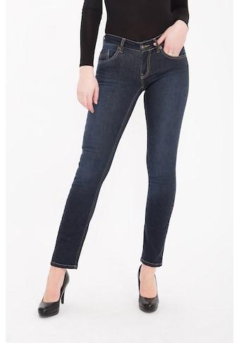 ATT Jeans Slim-fit-Jeans »Belinda«, mit kontrastigen Absteppungen und Wonder Stretch kaufen