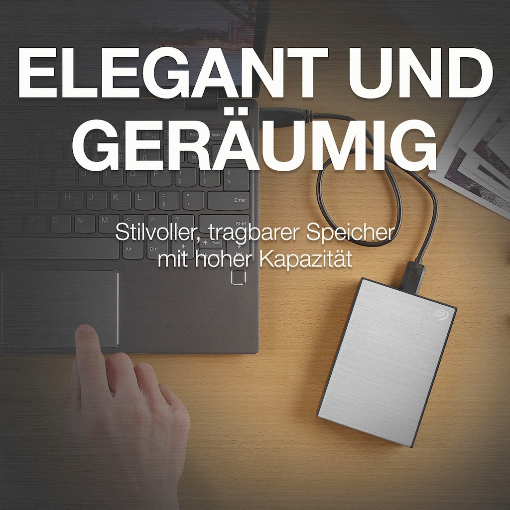 """Seagate externe HDD-Festplatte »One Touch Portable Drive 1TB«, 2,5 """", Inklusive 2 Jahre Rescue Data Recovery Services"""