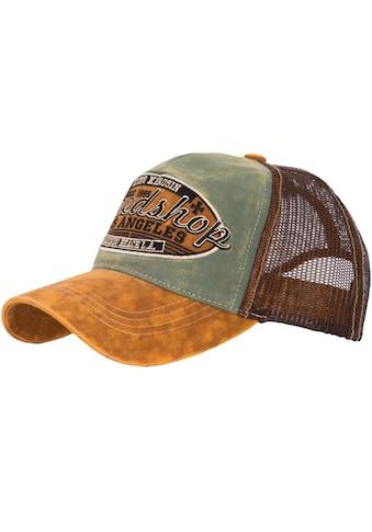 KingKerosin Trucker Cap »Speedshop«, im Used Look kaufen
