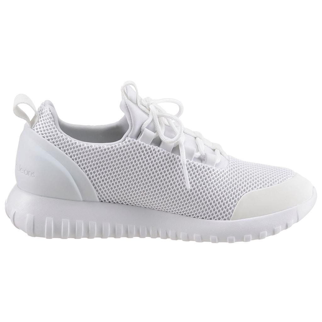 Calvin Klein Slip-On Sneaker, mit aufgesetzter Zierschnürung