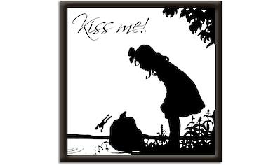 Artland Wandbild »Küss mich«, Sprüche & Texte, (1 St.) kaufen