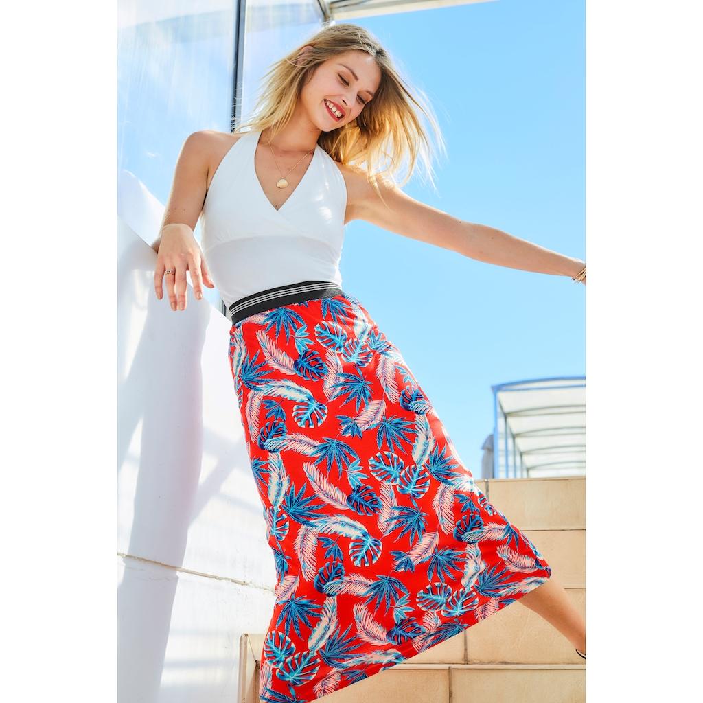 Aniston CASUAL Neckholdertop, in attraktiver Farbpalette