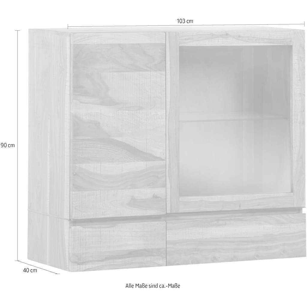 Gutmann Factory Hängeschrank »Tivoli«, mit Glaseinlegeböden