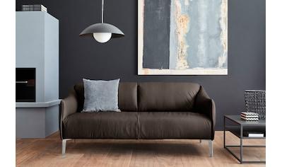 W.SCHILLIG 2,5-Sitzer »sally«, mit Metall-Winkelfüßen in Chrom glänzend, Breite 194 cm kaufen