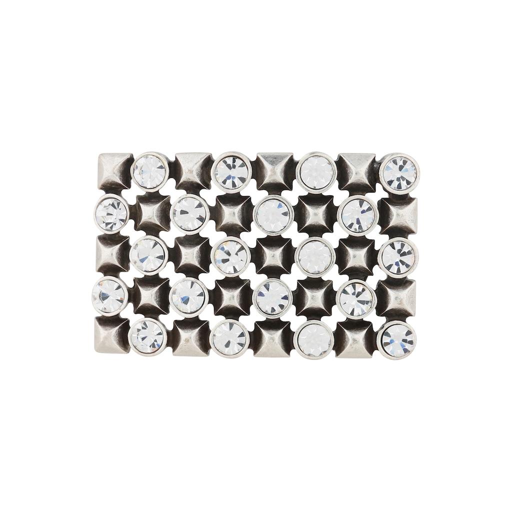 RETTUNGSRING by showroom 019° Gürtelschnalle, mit elegantem Muster