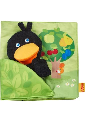 Haba Greifspielzeug »Stoffbuch Obstgarten«, mit Raben-Fingerpuppe kaufen