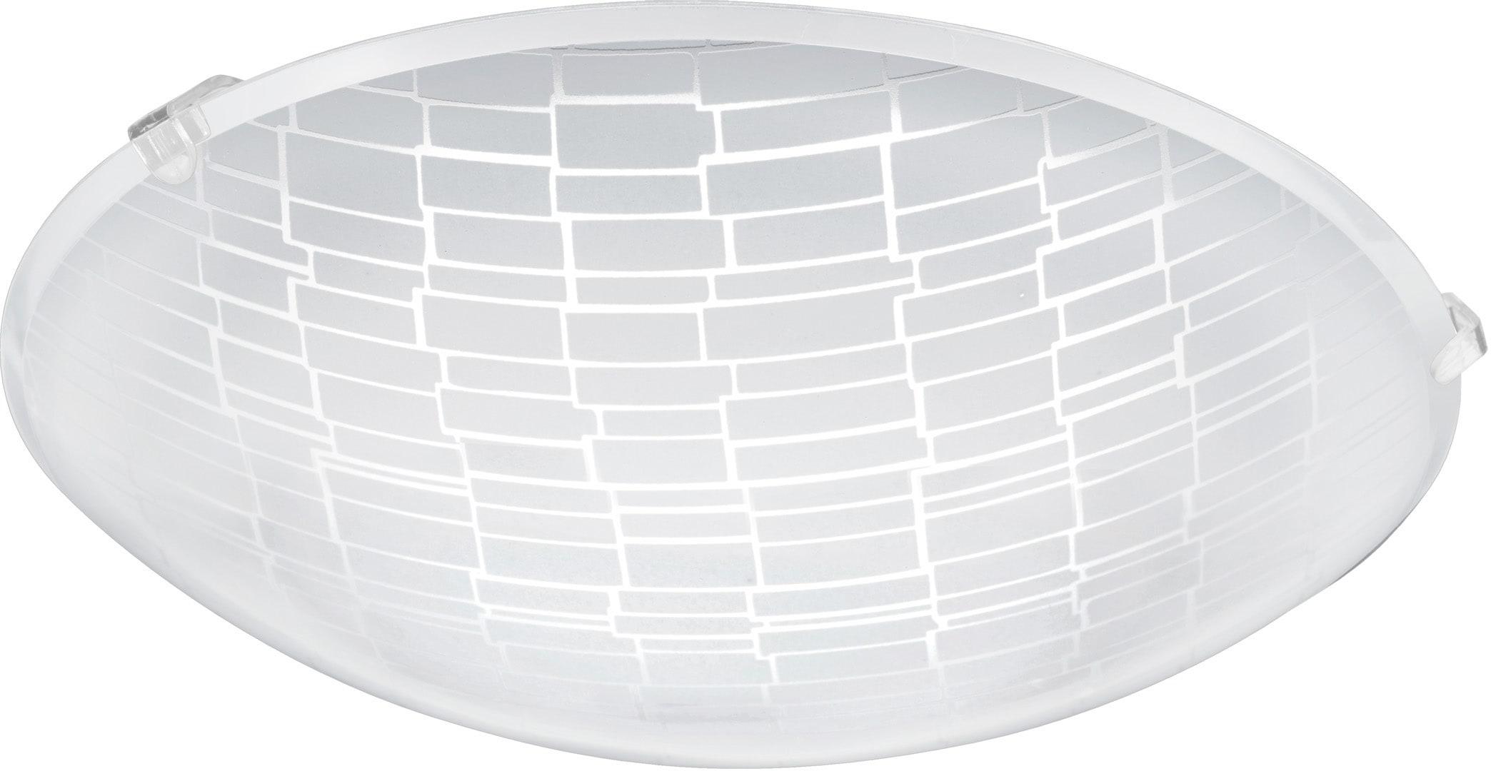 EGLO Deckenleuchte MALVA 1, LED-Board, Warmweiß, LED tauschbar