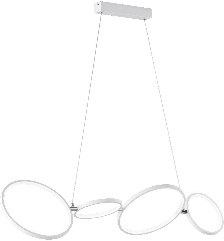 TRIO Leuchten LED Pendelleuchte Rondo, LED-Board, Warmweiß, Hängeleuchte, Switch Dimmer