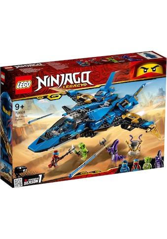 "LEGO® Konstruktionsspielsteine ""Jays Donner - Jet (70668), LEGO® NINJAGO®"", Kunststoff, (490 - tlg.) kaufen"