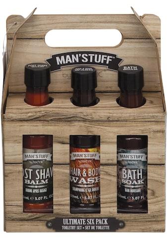 "MAN'STUFF Körperpflege - Set ""Ultimate Sixpack"", Set 6 - tlg. kaufen"