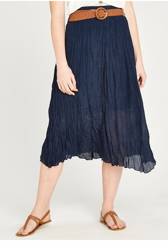 Apricot Crinklerock »Shimmer Crinkle Belted Skirt« kaufen