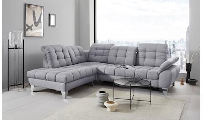 Places of Style Ecksofa »Bardi Luxus«, belastbar bis zu 140 kg, incl.... kaufen