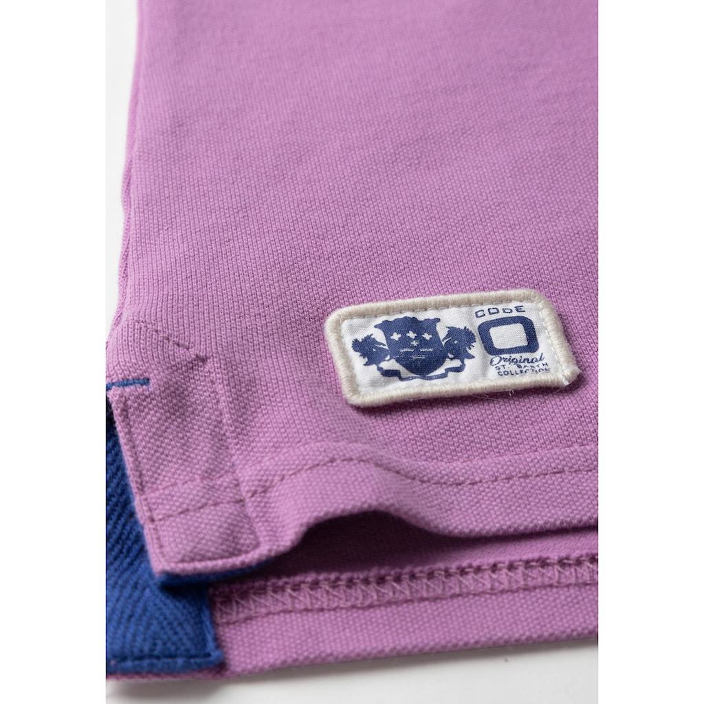 CODE-ZERO Poloshirt »St Jean Polo«, Knöpfe