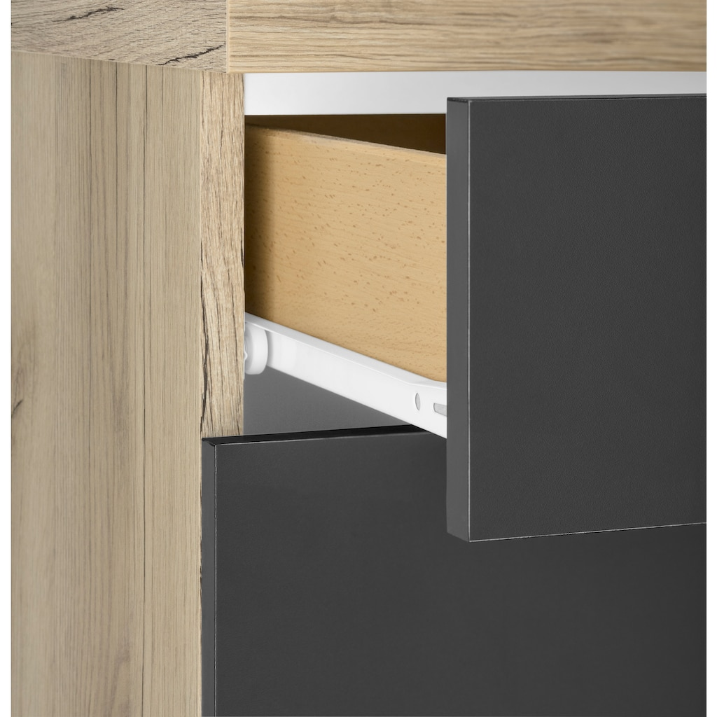 OPTIFIT Küchenzeile »Iver«, 300 cm breit, inklusive Elektrogeräte der Marke HANSEATIC, extra kurze Lieferzeit