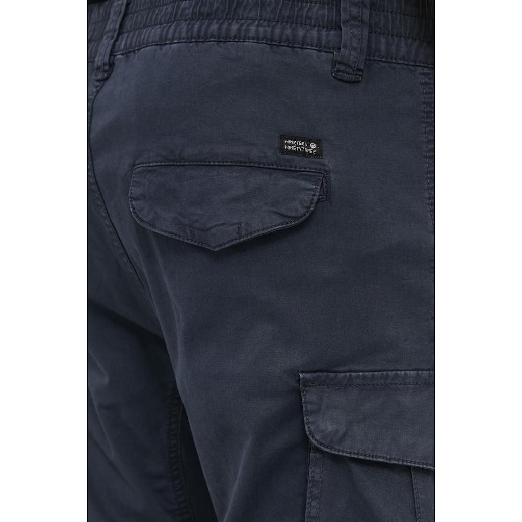Indicode Cargohose »Nuva«, Cargo Hose mit elastischem Bund