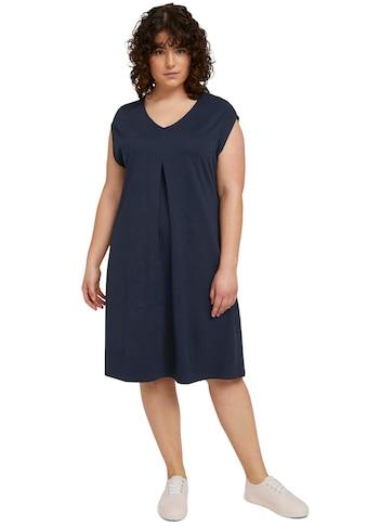 TOM TAILOR MY TRUE ME Jerseykleid, mit Falte auf der Vorderseite kaufen
