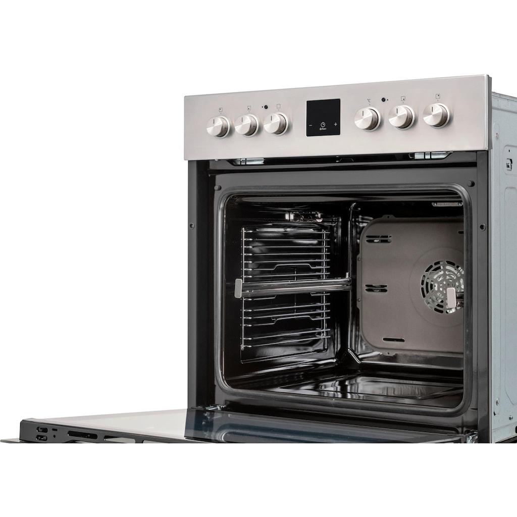 Samsung Elektro-Herd-Set »F-NB69R2350RS«, mit Restwärmeanzeige