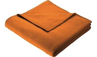 BIEDERLACK Wohndecke »Wohndecke Cotton Home«, im Uni Design kaufen