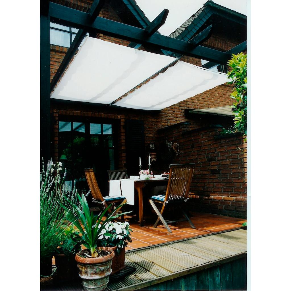 Floracord Sonnensegel, BxT: 330x140 cm, weiß