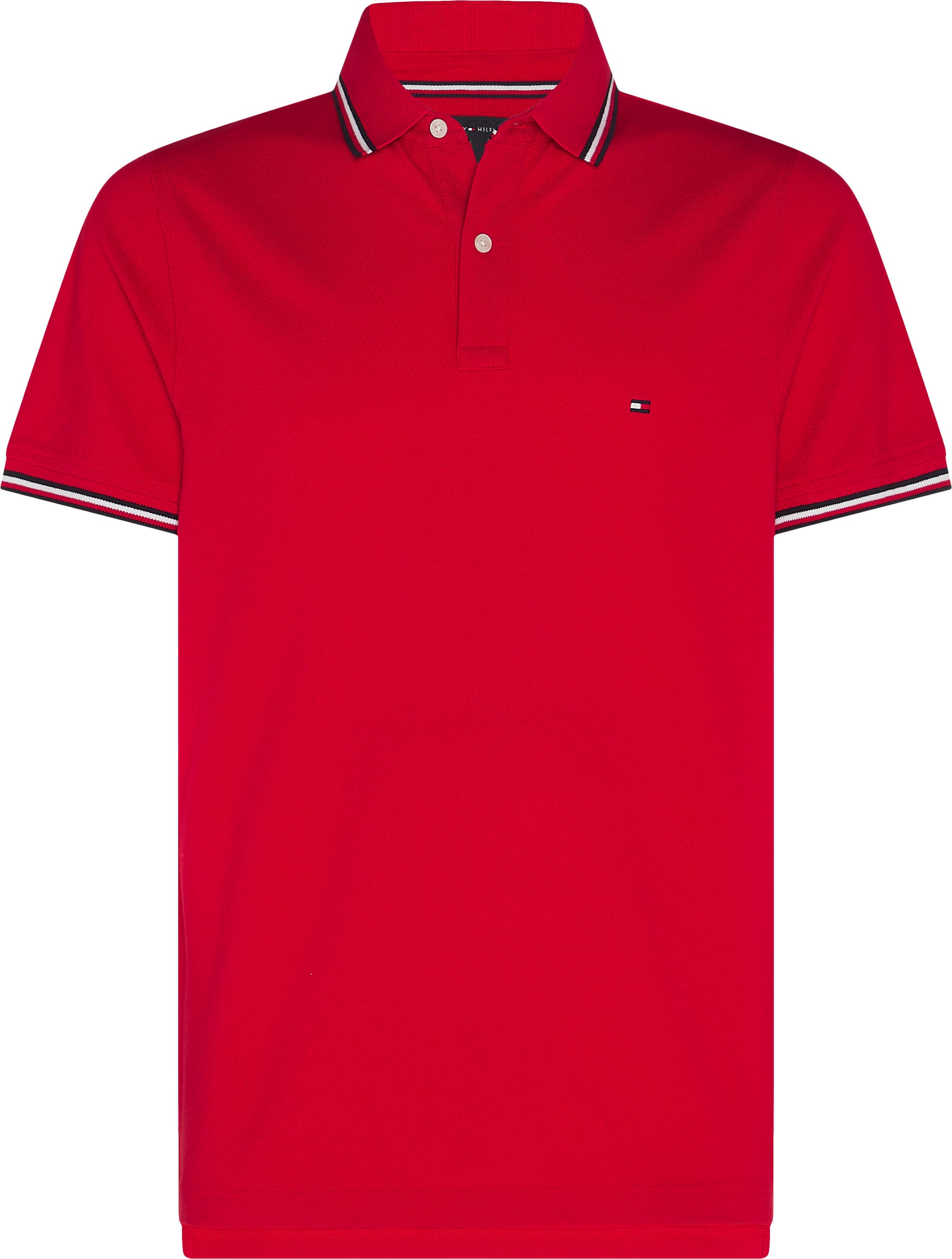 tommy hilfiger -  Poloshirt TOMMY TIPPED SLIM POLO