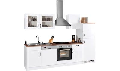 HELD MÖBEL Küchenzeile »Athen«, mit E-Geräten, Breite 280 cm kaufen