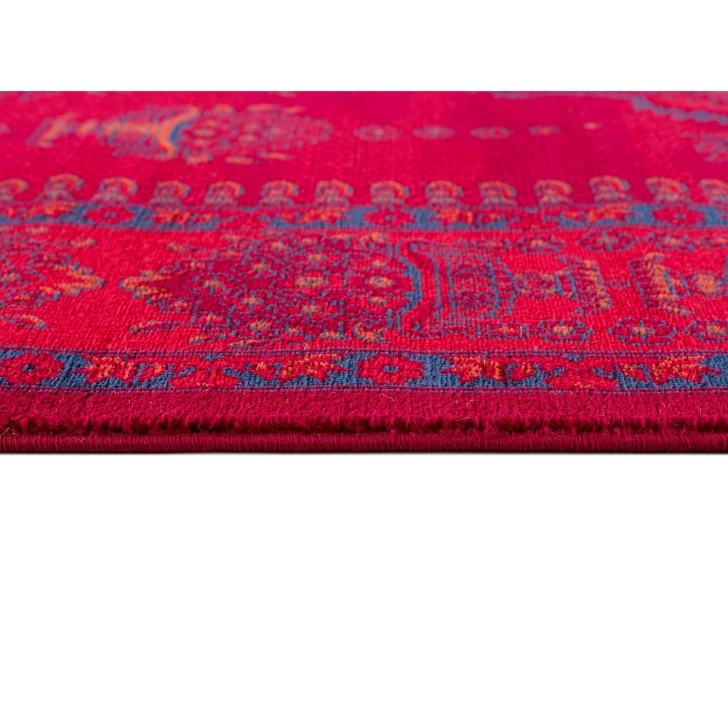 DELAVITA Teppich »Nino«, rechteckig, 12 mm Höhe, Orient-Optik, Wohnzimmer