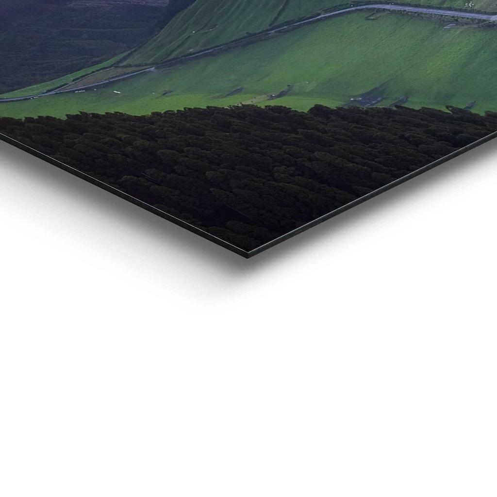 Reinders! Wandbild »Wandbild Morgenröte Berge - Sonnenaufgang - Natur«, Landschaften, (1 St.)