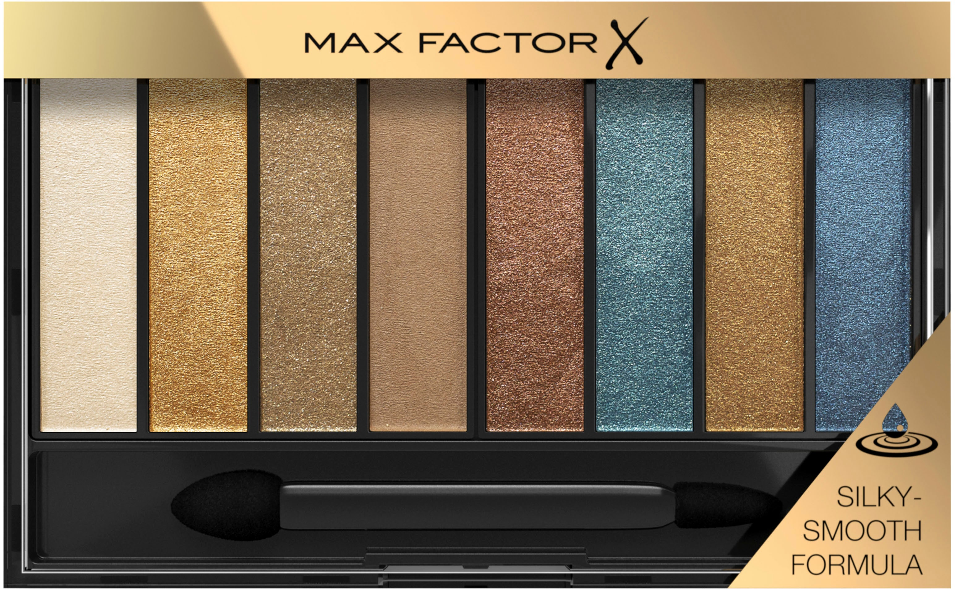 max factor -  Lidschatten-Palette Masterpiece Nude Palette Peacock Nudes 004