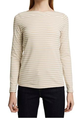 Esprit Collection Langarmshirt, im Streifen Look kaufen