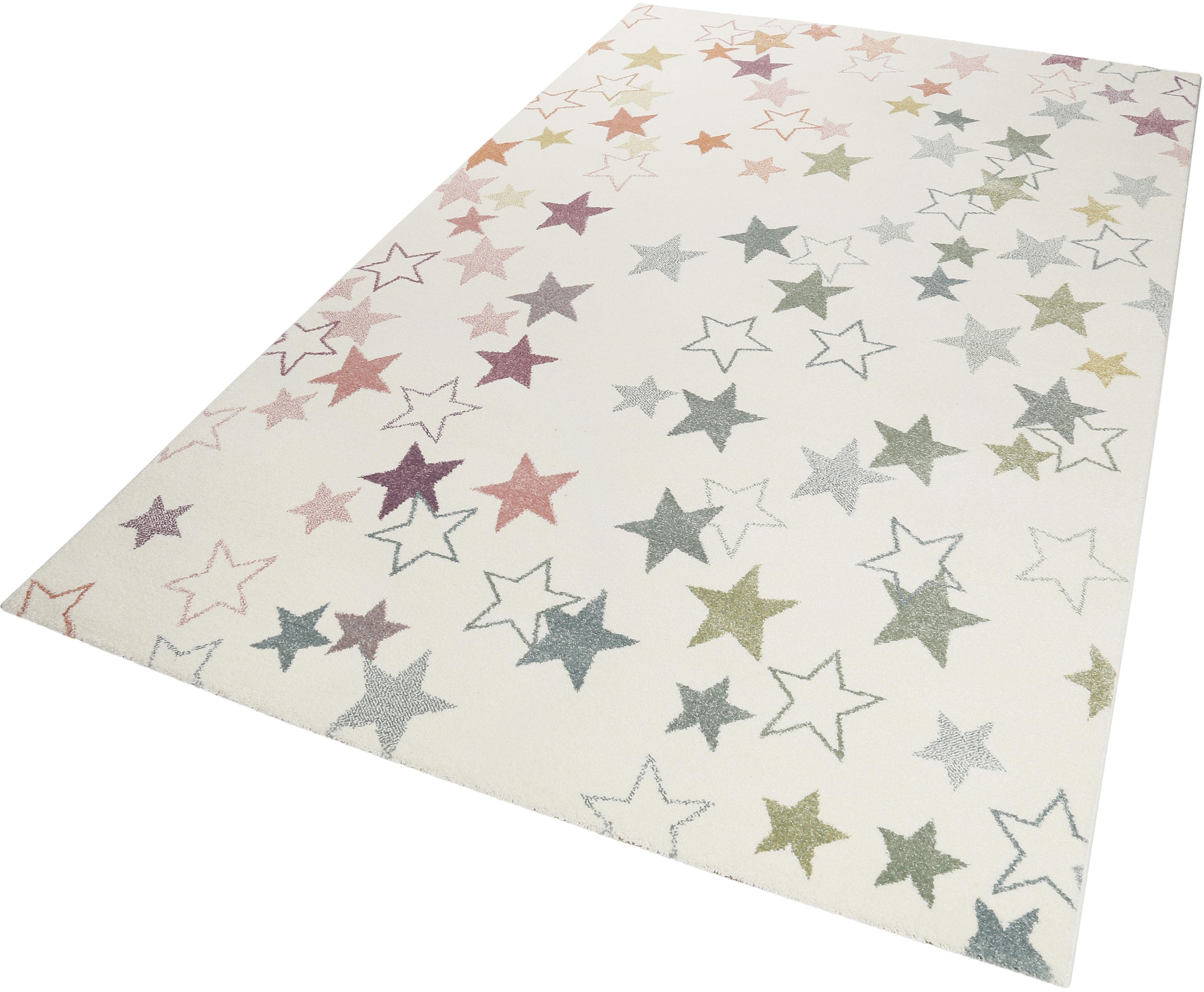 Kinderteppich Esterya Esprit rechteckig Höhe 13 mm maschinell gewebt
