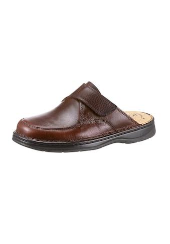 Pantoffel mit 5 - Zonen - Fußbett kaufen