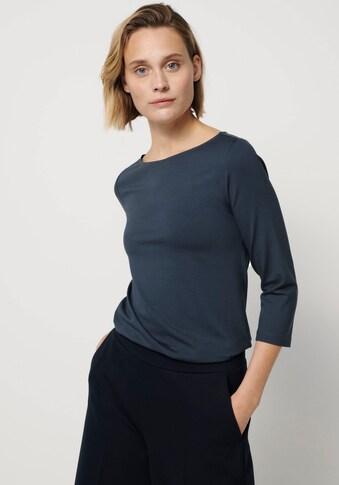 someday 3/4-Arm-Shirt »Kelisa«, mit formendem Materialeinsatz kaufen