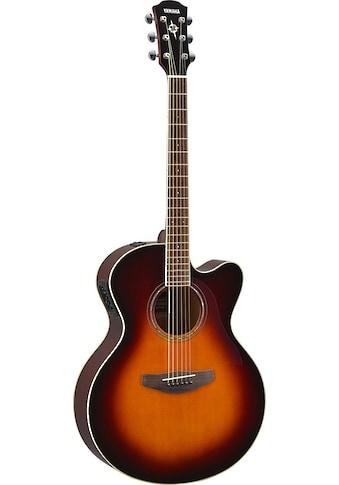 Yamaha Akustikgitarre »E-Akustikgitarre CPX600OVS, Old Violin Sunburst« kaufen
