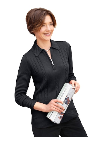 Casual Looks Pullover im attraktiven Zopfmuster kaufen