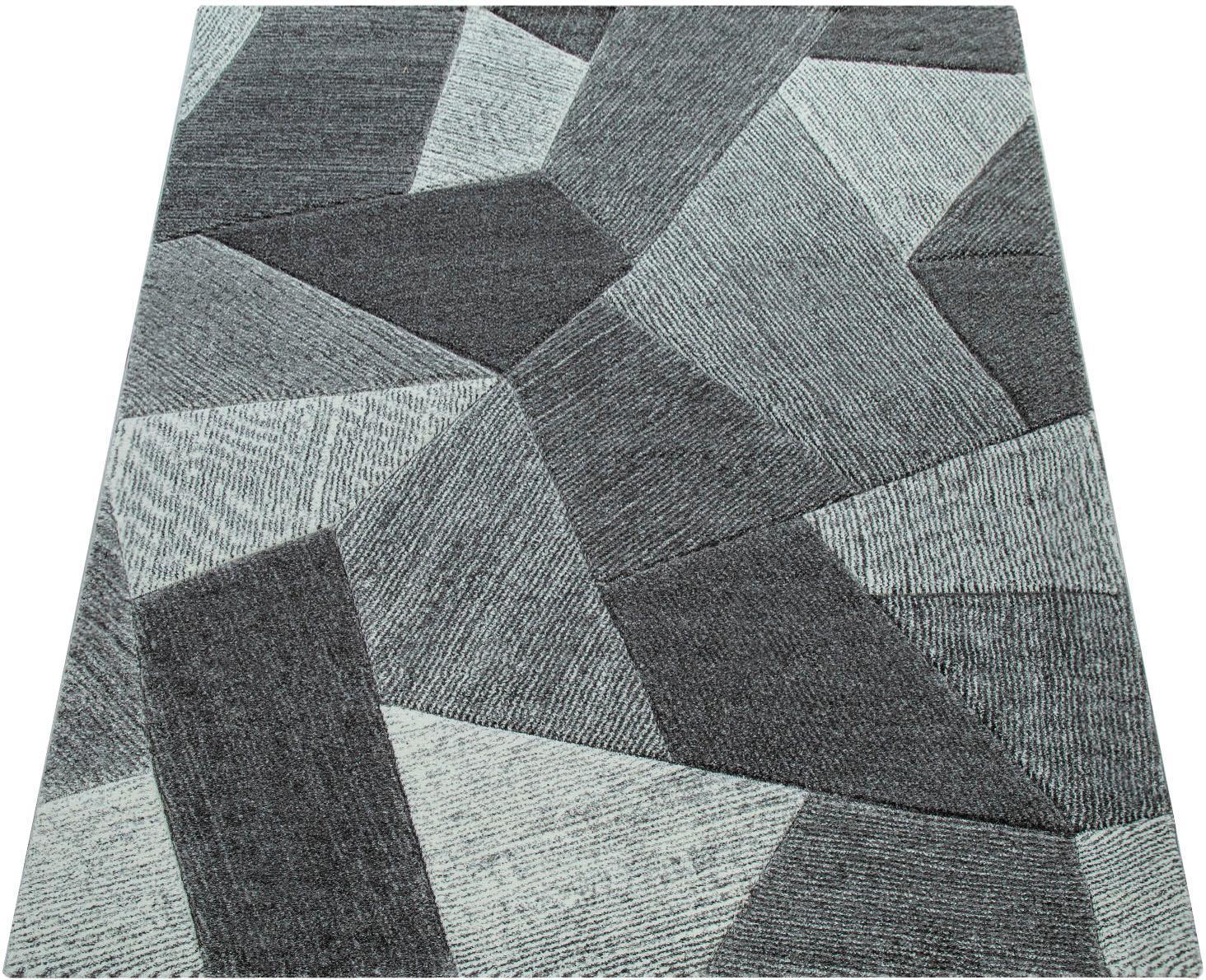 Teppich Lara 233 Paco Home rechteckig Höhe 18 mm maschinell gewebt