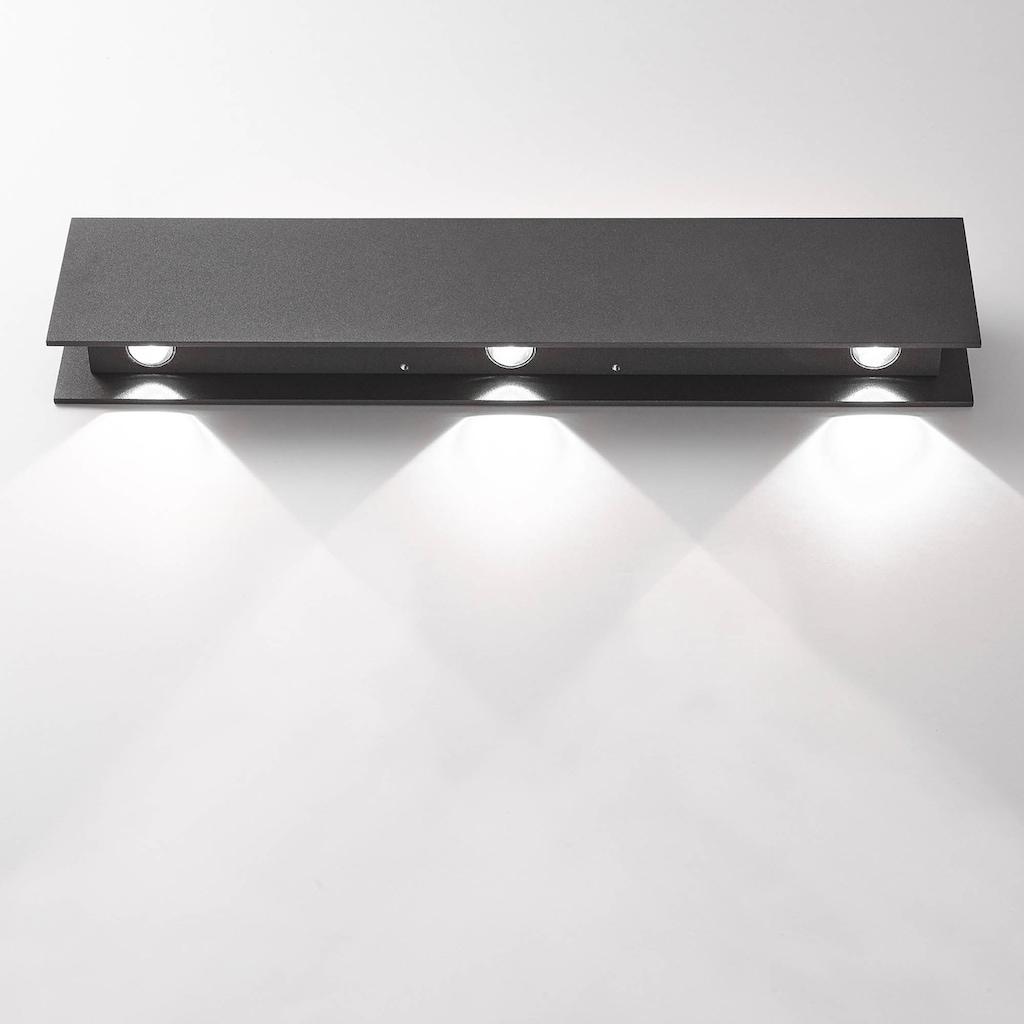 AEG Court LED Außenwandleuchte anthrazit