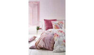 Biberna Bettwäsche »Leni«, mit großem Blütenprint kaufen
