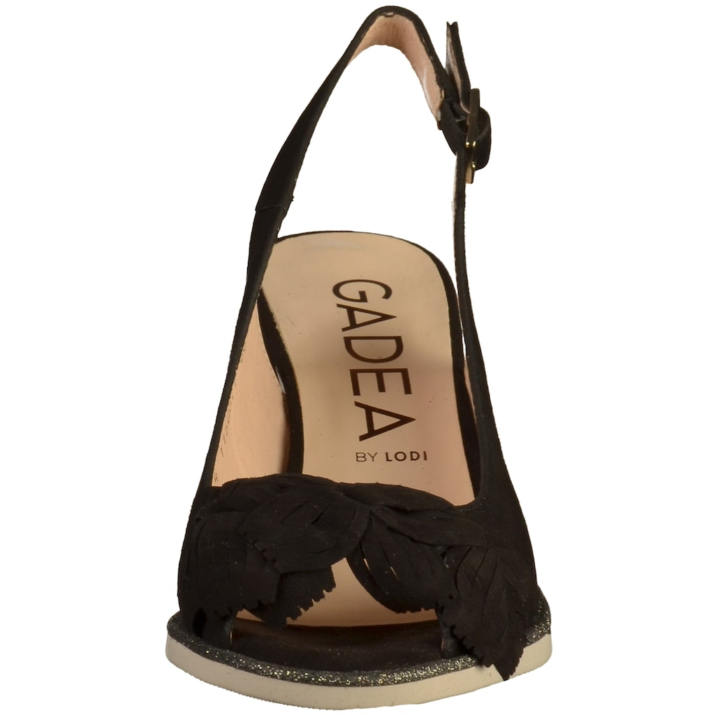 GADEA Peeptoepumps »Nubukleder«