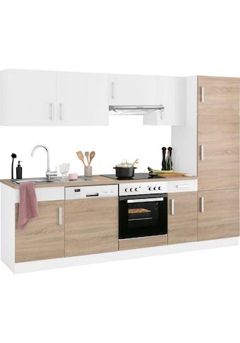 HELD MÖBEL Küchenzeile »Gera«, mit E-Geräten, Breite 270 cm kaufen