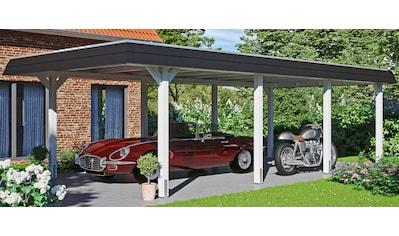 SKANHOLZ Einzelcarport »Wendland«, BxT: 409x870 cm kaufen