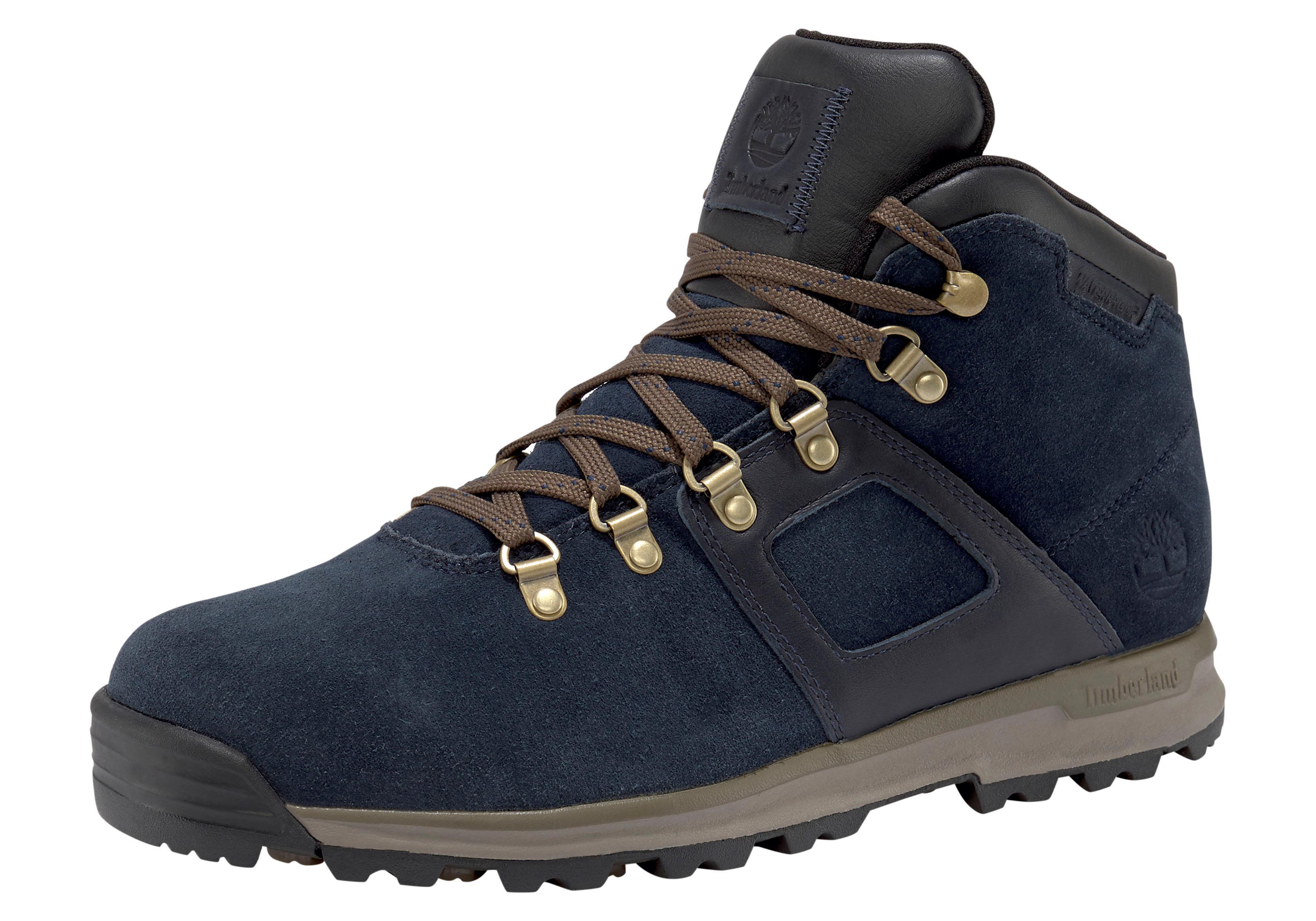 Timberland Wanderstiefel GT Scramble Mid Leather W | Schuhe > Outdoorschuhe > Wanderstiefel | Blau | Timberland Sportschuhe