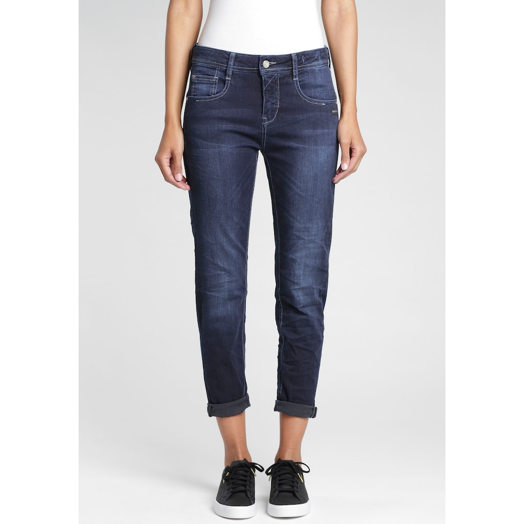 GANG Relax-fit-Jeans »Amelie«, im Used-Look