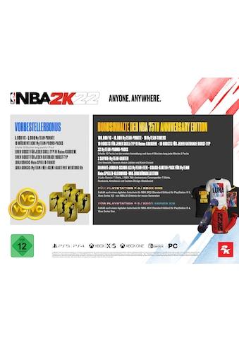 2K Sports Spiel »NBA 2K22 - 75th Anniversary Edition«, PlayStation 5 kaufen