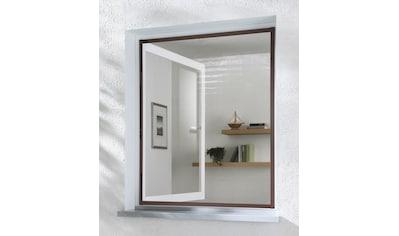 HECHT Insektenschutz - Fenster »MASTER SLIM«, braun/anthrazit, BxH: 80x100 cm kaufen