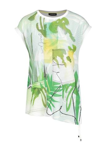 Taifun T - Shirt Kurzarm Rundhals »T - Shirt mit seitlicher Raffung« kaufen