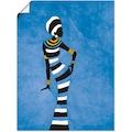 Artland Wandbild »Afrikanische Frau«, Frau, (1 St.)