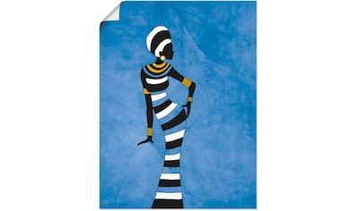 Artland Wandbild »Afrikanische Frau« kaufen